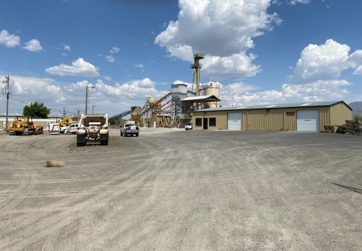 Mezotrace Mill in Winnemucca, Nevada