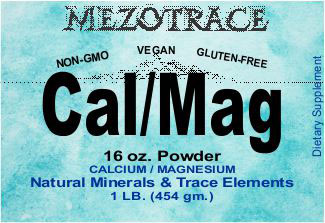 Calcium Magnesium Powder | mezotrace.com