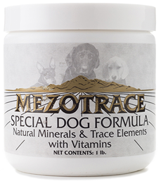 Mezotrace Special Dog Formula | mezotrace.com